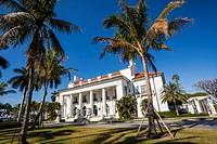 Facade of a museum, Flagler Museum, Palm Beach, Florida, USA