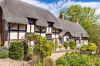 Anne Hathaway´s Cottage, Stratford-upon-Avon, Warwickshire, England, United Kingdom, Europe.