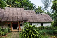 Chinese House in Sarawak Cultural Village also named as Sarawak Living Museum, Damai, Malaysia.