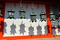 Kasuga Taisha temple,Nara City,Nara Prefecture,Kansai,Honshu,Japan.
