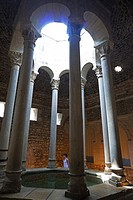 Changing room. Arab Baths. City of Girona, Catalonia, Spain, Europe.
