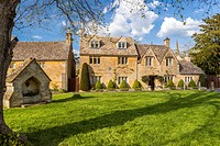 Cotswolds village of Lower Slaughter, Gloucestershire, England, United Kingdom, Europe.