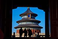 China, Beijing, Temple of Heaven, Unesco world heritage.