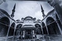 Sehzade Mosque (by Mimar Sinan). Istanbul. Turkey.