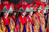 Okinawan folk event in Lima, Peru.