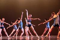 Four Pair onstage performance, San Diego, California.