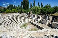 Aphrodisias Odeion. Ancient Greece. Asia Minor. Turkey.