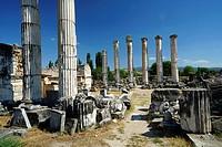 Temple of Aphrodite. Aphrodisias. Ancient Greece. Asia Minor. Turkey.