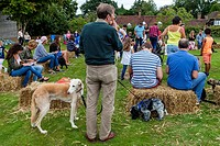 The Dog Show At The Annual Hartfield Village Fete, Hartfield, East Sussex, UK.
