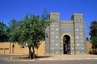 iraq, The Ishtar door to Babylon.