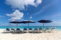 Cabbage Beach, New Providence Island, Paradise Isalnd, Bahamas.