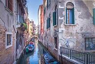 Venice,-Parochia S. Cassan-Campo S. Maria Mater Domini, Morning View