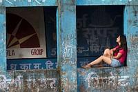 Girl in deep thought, Mulshi, Pune, Maharashtra, India.