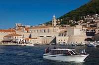 Port of Dubrovnik, Dalmatia, Croatia.