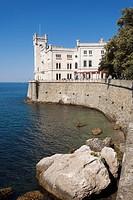 Miramare castle, Trieste, Friuli-Venezia Giulia, Italy.