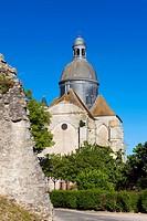 Saint Quiriace collegiate church, Provins medieval city, Seine-et-Marne, Ile-de-france, France.