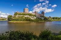 Pembroke Castle, Pembrokeshire, Wales, United Kingdom, Europe.