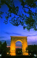 Tarragona: arch of Bara, Roman arch (Unersco World Heritage).