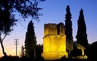 Tarragona: Tower of the Scipios, roman monument (1st century AD).