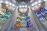 Sagrada Familia, Barcelona, Catalonia, Spain.