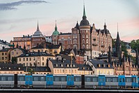 Stockholm, Sweden - Gamla Stan, otherwise called the Old City is one of the largest and best preserved medieval city centers in Europe and one of Stoc...