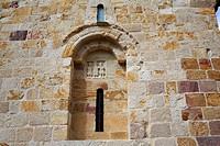 Zamora San Cipriano church in Spain by Via de la Plata way to Santiago.
