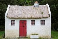 Model of Traditional Cottage, Carraig Bar, Leenane - Leenaun, Connemara; Galway; Ireland.