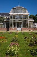 Greenhouse in Jardins des Plantes, Nantes, Loire Atlantique, France