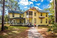 Historic Heritage Village in Pinellas County in Largo Florida.