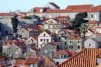 View of Old Town of Dubrovnik, Croatia.