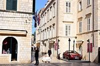 Gunduliceva street of Dubrovnik, Croatia.