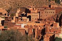 Dades, Dades Valley, Dades Gorges, High Atlas, Morocco, Maghreb, North Africa.