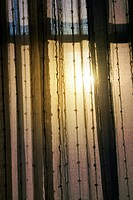 Morning Light Through Curtains.