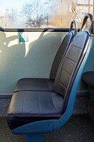 priority seats on a bus for disabled customers in the uk.