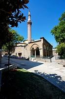 Gazi Orhan Mosque (1339) early Ottoman style by architect Orhan Bey. Bursa. Turkey