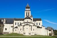 Abbey of Fontevraud, Anjou, Fontevraud l´Abbaye, Maine-et-Loire department, Pays de la Loire, Loire Valley, UNESCO World Heritage Site, France, Europe...