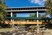 Smolen-Gulf Covered bridge, Astabula County, Ohio, USA.