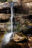 French Broad River near Living Waters - Balsam Grove, North Carolina USA.