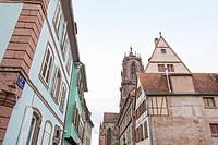 Selestat in Alsace cityscape ,France.
