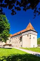 Budyne nad Ohri Palace, Czech Republic.