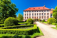 Libochovice Palace, Czech Republic.