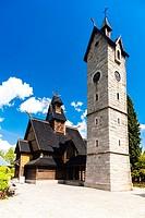 Karpacz Church, Silesia, Poland.
