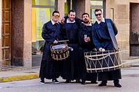 Drum and Bass Drum Route in la Puebla de Hijar, Spain