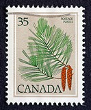 Canadian postage stamp.