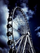 Ferris wheel in Manchester UK
