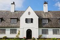 Square Cottage, Cushendun; County Antrim; Northern Ireland.