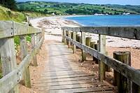 Beach; Cushendun; County Antrim; Northern Ireland.