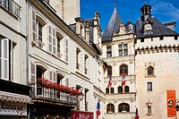 France, Indre-et-Loire (37), Loches, medieval city, old town.