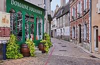 France, Cher 18, Sancerre village.