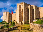 Albania, Krujë, the castle, now Skanderbeu National Museum.